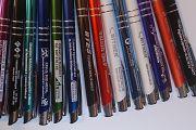 Kolorowe długopisy z grawerem